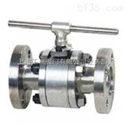 Q611F型PN25~PN40气动钢制内螺纹球阀(三段式)