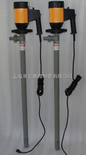防爆型塑料电动油桶泵