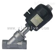 BDJ-02F-精品推荐内螺纹气动角座阀 量大从优 大量现货供应