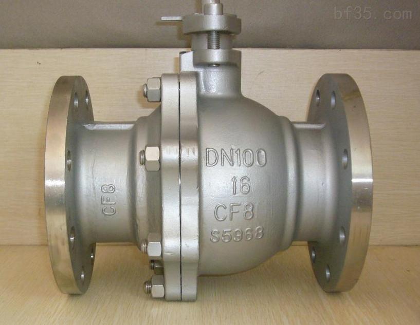 手动法兰涡轮球阀Q341F-16P不锈钢球阀