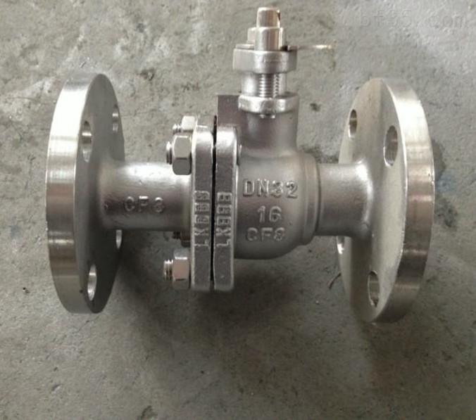 Q341F-16P手动涡轮法兰球阀-手动不锈钢涡轮球阀