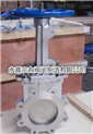 耐高温排渣阀PZ973W-10NR/耐高温刀形排渣阀/刀型排渣闸阀