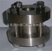 H72型-锻钢立式止回阀