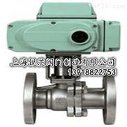 Q941Y浮动硬密封电动球阀/上海高桥水暖设备,丝口不锈钢316电动球阀加工精度高