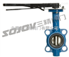 D71X/J-系列手动螺旋蜗轮传动对夹式衬胶蝶阀